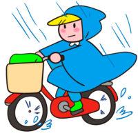 【リポ】自転車通勤10分で着るレインコートを女性目線で選んだ結果