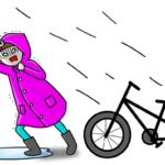 自転車の雨対策の顔用アイテム!通勤のメイク崩れを防ぐならこれ