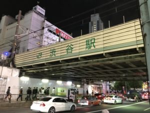 ハロウィン 渋谷駅 混雑
