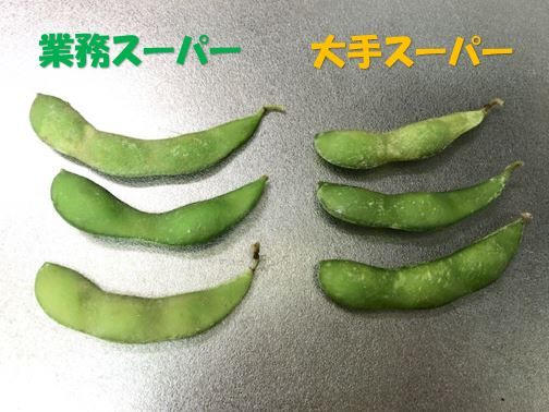 業務スーパーの枝豆