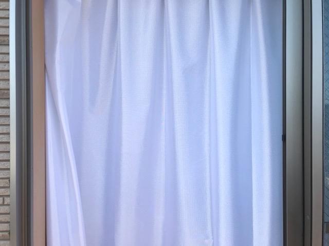洗えるレースカーテン