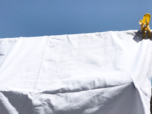 シーツの洗濯方法