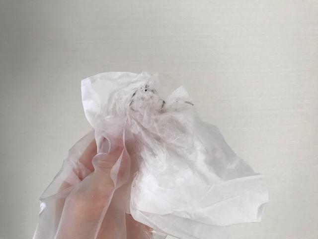 エアコン羽のカビ掃除