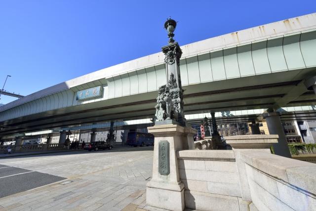 箱根駅伝を日本橋で観戦