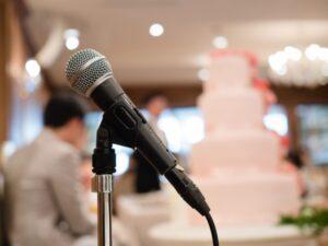 結婚式のスピーチ例文