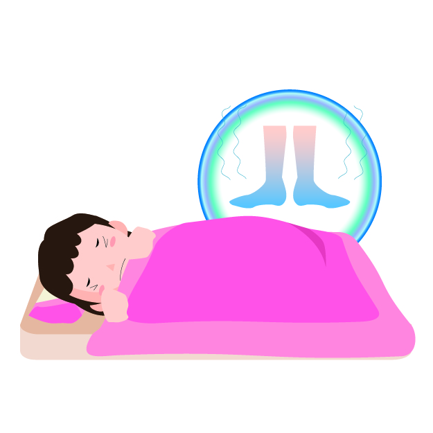 寝るときに足が冷える対策